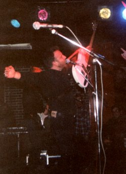 Hooky at Stoke Polytechnic in 1992 with white Marathon 6