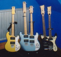 Some of Julians Shergolds (and a Mosrite) at home